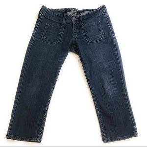 Old Navy The Diva Crop Capri Jeans Pants, Size 4